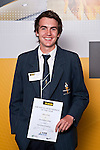 Boys Equestrian winner Oliver Steele from Strathallan College. ASB College Sport Auckland Secondary School Young Sports Person of the Year Awards held at Eden Park on Thursday 12th of September 2009.