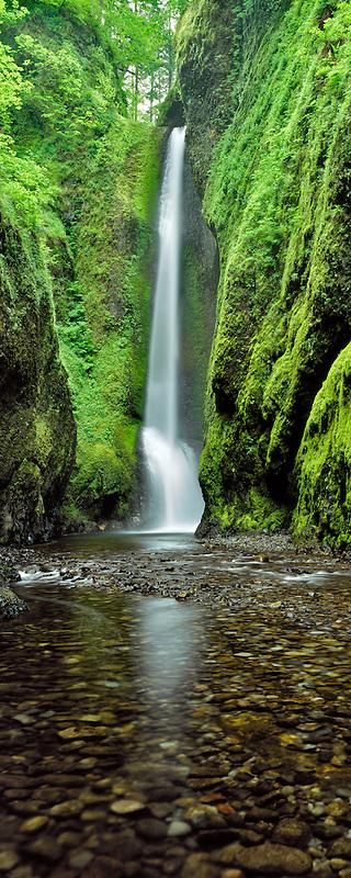 Oneonta Falls, Oregon.