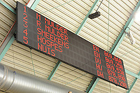 SCHAATSEN: HEERENVEEN: 27-12-2013, IJsstadion Thialf, KNSB Kwalificatie Toernooi (KKT), uitslag 500m, scorebord, ©foto Martin de Jong
