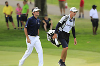Bubba Watson (USA) and Ted Scott walk to the 9th green during Sunday's Final Round of the WGC Bridgestone Invitational 2017 held at Firestone Country Club, Akron, USA. 6th August 2017.<br /> Picture: Eoin Clarke | Golffile<br /> <br /> <br /> All photos usage must carry mandatory copyright credit (&copy; Golffile | Eoin Clarke)