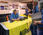 Jeff Mitchell from Nikon at the Friday symposium at STW XXXI, Winnemucca, Nevada, April 12, 2019.<br /> .<br /> .<br /> .<br /> .<br /> @shootingthewest, @winnemuccanevada, #ShootingTheWest, @winnemuccaconventioncenter, #WinnemuccaNevada, #STWXXXI, #NevadaPhotographyExperience, #WCVA