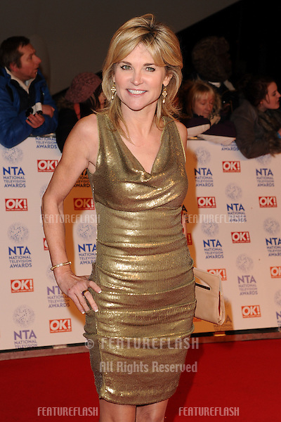 Anthea Turner arriving for the National Television Awards 2013, at the O2 Arena, London. 23/01/2013 Picture by: Steve Vas / Featureflash