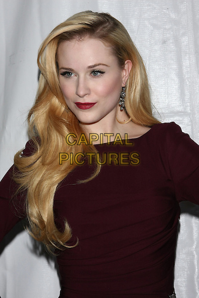 EVAN RACHEL WOOD .attending the Premiere of the HBO mini-series 'Mildred Pierce' at the Ziegfeld Theater, New York, NY, USA, .March 21st, 2011.portrait headshot make-up retro hair beauty lipstick brown  red maroon burgundy dress .CAP/LNC/TOM.©LNC/Capital Pictures.