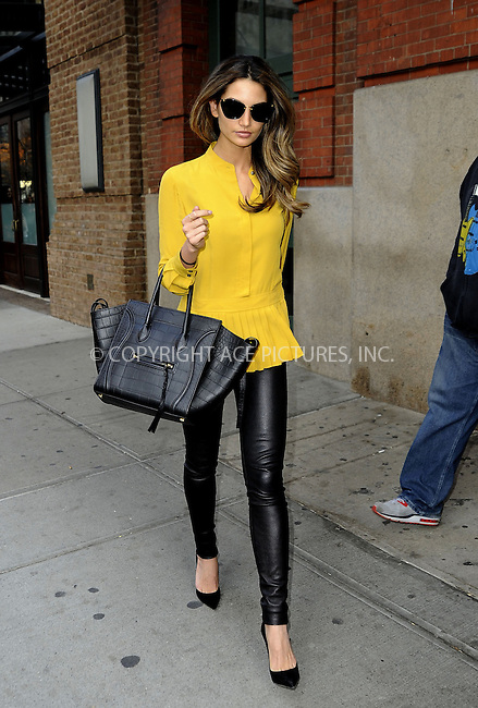 WWW.ACEPIXS.COM....December 3 2012, New York City....Model Lily Aldridge walks in Tribeca  on December 3 2012 in New York City........By Line: Curtis Means/ACE Pictures......ACE Pictures, Inc...tel: 646 769 0430..Email: info@acepixs.com..www.acepixs.com