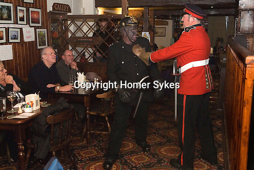 Antrobus Soul Caking Play. Antrobus Cheshire Uk. Plumley Knutsford Cheshire. 2012.