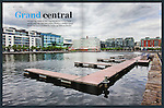 Dublin's grand canal docks.<br />