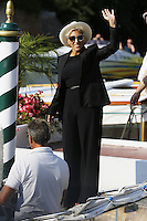 Malika Ayane arrives at the Darsena to attend the 72nd Venice Film Festival at the Excelsior Hotel in Venice, Italy, September 11, 2015.<br /> UPDATE IMAGES PRESS/Stephen Richie