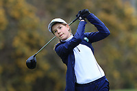 Nele Diedrich (GER) on the 13th tee during Round 1 of the Irish Girls U18 Open Stroke Play Championship at Roganstown Golf &amp; Country Club, Dublin, Ireland. 05/04/19 <br /> Picture:  Thos Caffrey / www.golffile.ie
