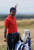Gran cantidad de jugadores espa&ntilde;oles en el campo de pr&aacute;cticas. Jorge Campillo (ESP) warms up during the ASI Scottish Open 2018, at Gullane, East Lothian, Scotland.  11/07/2018. Picture: David Lloyd | Golffile.<br /> <br /> Images must display mandatory copyright credit - (Copyright: David Lloyd | Golffile).