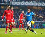 4.3.2018: Rangers v Falkirk Scottish Cup QF<br /> Alfredo Morelos