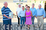 Asdee Journal Launch : Mike Rice, editor of the Asdee Journal, pictured at the launch of the journal at the Asdee Community centre on Friday evening last. L-R: Mike Rice, Fr. Pat Moore, Donie O'Keeffe, Noreen dalton, Gerardine Gallivan, Jimmy Quinn & Tom O'Connor.