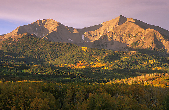 Mt. Sopris, Carbondale, White River National Forest, Colorado
