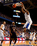 Terrence Jones makes a dunk in the first half of the UK's win over Coppin State at Rupp Arena on Dec. 28, 2010. Photo by Britney McIntosh | Staff