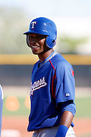 Engel Beltre  - Texas Rangers - 2009 spring training.Photo by:  Bill Mitchell/Four Seam Images