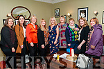 "Attending the ""Guess the Chef"" dinner at Kilcooly's Country Guest house, Ballybunion on Friday night in aid of Ballybunion Tidy towns were Martha Browne, Maire Griffin, Maureen O'Mahony, Josephine Weadick, Angela Dowling, Eileen Brennan, Eileen Beasley, Carmel Nash and Pat O'Connor."