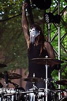 Niklas Kahl von Lord of the Lost live auf dem XIII. Amphi-Festival 2017 im Tanzbrunnen. Köln, 22.07.2017