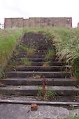 23/06/2000 Blackpool FC Bloomfield Road Ground..Home Kop steps....© Phill Heywood.