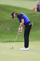 Tommy Fleetwood (ENG) takes his putt on the 3rd green during Sunday's Final Round of the WGC Bridgestone Invitational 2017 held at Firestone Country Club, Akron, USA. 6th August 2017.<br /> Picture: Eoin Clarke | Golffile<br /> <br /> <br /> All photos usage must carry mandatory copyright credit (&copy; Golffile | Eoin Clarke)