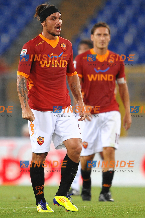 "Pablo Daniel OSVALDO Roma.Roma 22/9/2011 Stadio ""Olimpico"".Football Calcio Serie A 2011/2012.Roma Vs Siena.Foto Insidefoto Andrea Staccioli"