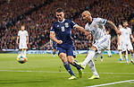 06.09.2019 Scotland v Russia, European Championship 2020 qualifying round, Hampden Park:<br /> John McGinn and Fedor Kudryashov