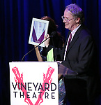 Douglas Aibel on stage during the Vineyard Theatre Gala 2018 honoring Michael Mayer at the Edison Ballroom on May 14, 2018 in New York City.