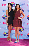 UNIVERSAL CITY, CA - JULY 22: Kendall Jenner and Kylie Jenner arrive at the 2012 Teen Choice Awards at Gibson Amphitheatre on July 22, 2012 in Universal City, California.