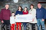 The St Mary's GAA Club Lotto was won by Maureen O'Neill 6th September scooping €2,400 pictured here collecting the winnings on Tuesday were Peter Murphy(Assistant Treasurer), Colin O'Neill, Maureen O'Neill, Leanne O'Neill, Sheila Quigley(Treasurer) & Brendan Casey(Secretary).
