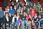 6498-6502.Key to the Door - Donal Morriarty from Ardfert, seated centre, having a ball with family and friends at his 21st birthday party held in The Abbey Tavern Ardfert on Friday night.................................................................................................................. ............