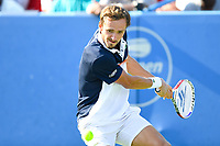 Washington, DC - August 4, 2019: Daniil Medvedev (RUS) in action against Nick Kyrgios (AUS) NOT PICTURED during the Men's finals of the Citi Open at the Rock Creek Tennis Center, in Washington D.C. (Photo by Philip Peters/Media Images International)