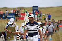 Jon Rahm (ESP) on the 9th during Round 3 of the Dubai Duty Free Irish Open at Ballyliffin Golf Club, Donegal on Saturday 7th July 2018.<br /> Picture:  Thos Caffrey / Golffile