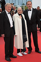 Carlo Nero, Vanessa Redgrave &amp; Lord Dubs at the premiere for &quot;Loveless&quot; at the 70th Festival de Cannes, Cannes, France. 18 May  2017<br /> Picture: Paul Smith/Featureflash/SilverHub 0208 004 5359 sales@silverhubmedia.com