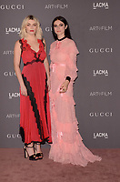 LOS ANGELES, CA - NOVEMBER 04: Lola Fruchtmann, Tali Lennox at the 2017 LACMA Art + Film Gala Honoring Mark Bradford And George Lucas at LACMA on November 4, 2017 in Los Angeles, California. <br /> CAP/MPI/DE<br /> &copy;DE/MPI/Capital Pictures