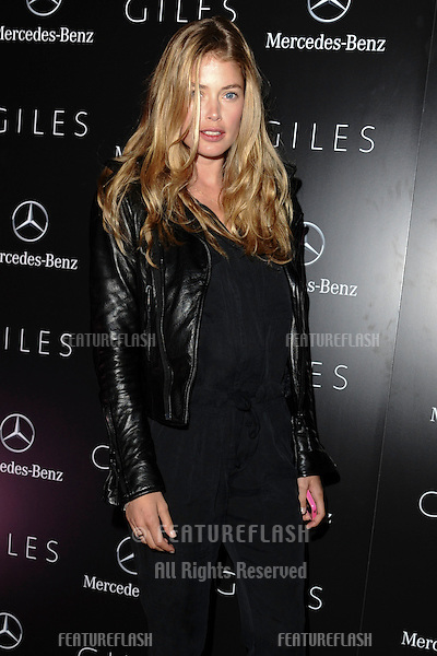 model Doutzen Koers.arrives for the Giles after show party, Covent garden, London19/09/2011  Picture by Steve Vas/Featureflash