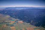 Aerial over the Livingston / Bozeman Valleys, MONTANA