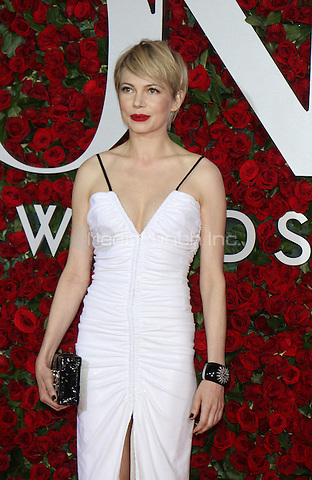 NEW YORK, NY-June 12: Michelle Williams  at the 70th Annual Tony Awards at the Beacon Theatre in New York. NY June 12, 2016. Credit:RW/MediaPunch