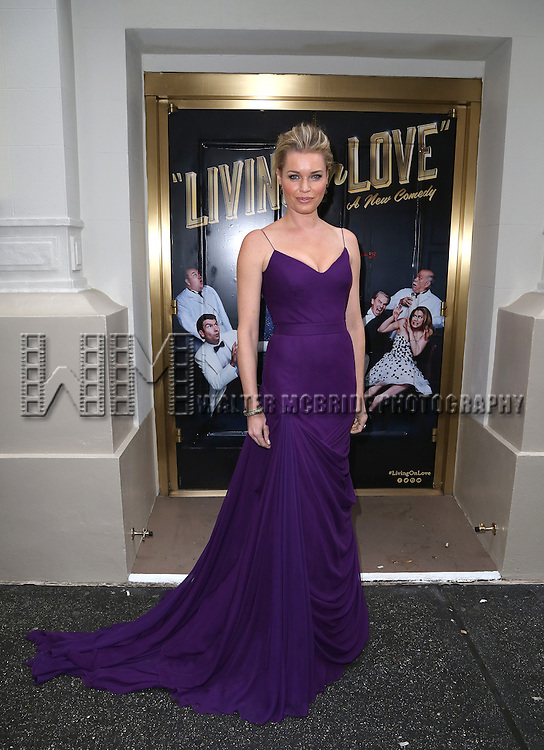 NEW YORK, NY - APRIL 20:  Rebecca Romijn attends the Broadway Opening Night Performance of  'Living on Love'  at  The Longacre Theatre on April 20, 2015 in New York City.  (Photo by Walter McBride/Getty Images)
