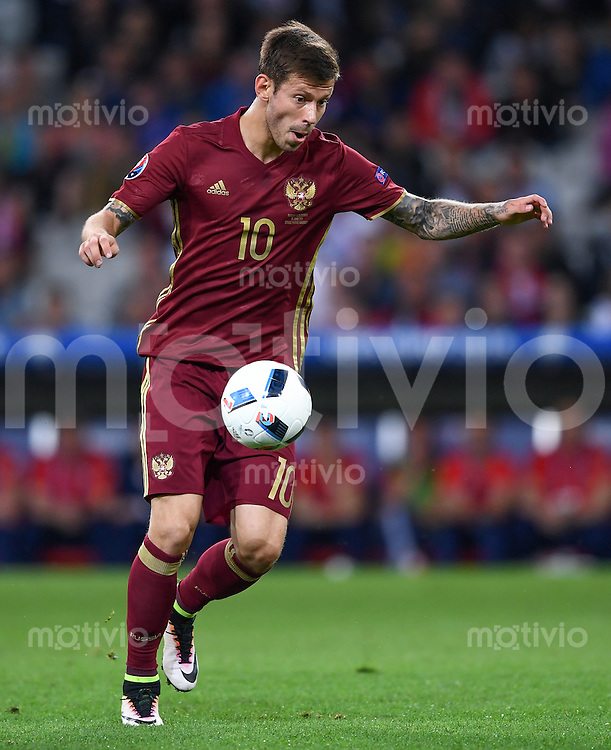 FUSSBALL EURO 2016 GRUPPE B IN LILLE Russland - Slowakei     15.06.2016 Fedor Smolov (Russland)