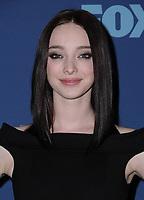 04 January 2018 - Pasadena, California - Emma Dumont. FOX Winter TCA 2018 All-Star Partyheld at The Langham Huntington Hotel in Pasadena.  <br /> CAP/ADM/BT<br /> &copy;BT/ADM/Capital Pictures