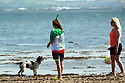 Local people enjoy the warm weather at Loug Shore in Jordanstown, County Antrim, Wednesday,  June 26th, 2019. (Photo by Paul McErlane for the Belfast Telegraph)