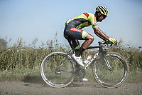 Aksel Nommela (EST/Bingoal-WB)<br /> <br /> Antwerp Port Epic 2020 <br /> One Day Race: Antwerp to Antwerp 183km; of which 28km are cobbles and 35km is gravel/off-road<br /> Bingoal Cycling Cup 2020