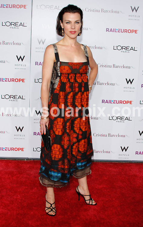 **ALL ROUND PICTURES FROM SOLARPIX.COM**.**SYNDICATION RIGHTS FOR UK, SPAIN, PORTUGAL, AUSTRALIA, S.AFRICA & DUBAI (U.A.E) ONLY**.Woody Allens latest movie Vicky Cristina Barcelona Los Angeles Premiere at the Mann Village Theatre in Westwood California in the USA. .This pic:Debi Mazar..JOB REF:6968-PHZ/David Gabber     DATE:04_08_08 .**MUST CREDIT SOLARPIX.COM OR DOUBLE FEE WILL BE CHARGED* *UNDER NO CIRCUMSTANCES IS THIS IMAGE TO BE REPRODUCED FOR ANY ONLINE EDITION WITHOUT PRIOR PERMISSION*
