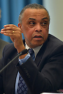 February 21, 2013  (Washington, DC)  D.C. Inspector General Charles Willoughby testifies before the D.C. Council Committee on Government Operations.  (Photo by Don Baxter/Media Images International)