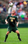 13 September 2009: University of Vermont Catamount midfielder Kyle Luetkehans, a Junior from LaGrange, IL, in action against the University of Massachusetts Minutemen during the second round of the 2009 Morgan Stanley Smith Barney Soccer Classic held at Centennial Field in Burlington, Vermont. The Catamounts and Minutemen battled to a 1-1 double-overtime tie. Mandatory Photo Credit: Ed Wolfstein Photo
