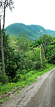 Bolton Pass in Sutton Mountains, Eastern Townships, Quebec, Canada