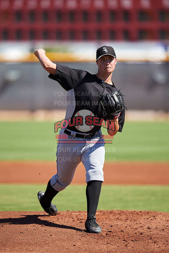 Chicago White Sox pitcher Chris Comito (46) during an Instructional League game against the Cincinnati Reds on October 11, 2016 at the Cincinnati Reds Player Development Complex in Goodyear, Arizona.  (Mike Janes/Four Seam Images)