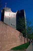 The exterior of the Denver Art Museum. Colorado.