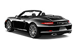 Car pictures of rear three quarter view of 2016 Porsche 911 Black Edition 2 Door convertible Angular Rear
