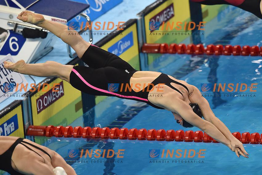 Ilaria BIANCHI Italia Women's 100m Butterfly <br /> Doha Qatar 06-12-2014 Hamad Aquatic Centre, 12th FINA World Swimming Championships (25m). Nuoto Campionati mondiali di nuoto in vasca corta.<br /> Photo Andrea Staccioli/Deepbluemedia/Insidefoto