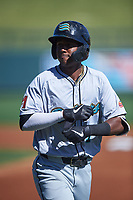 Salt River Rafters Geraldo Perdomo (7), of the Arizona Diamondbacks organization, during the Arizona Fall League Championship Game against the Surprise Saguaros on October 26, 2019 at Salt River Fields at Talking Stick in Scottsdale, Arizona. The Rafters defeated the Saguaros 5-1. (Zachary Lucy/Four Seam Images)