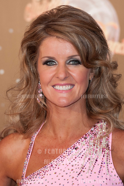 Erin Boag arriving for the Strictly Come Dancing 2012 Launch, Television Centre, London. 11/09/2012 Picture by: Simon Burchell / Featureflash.
